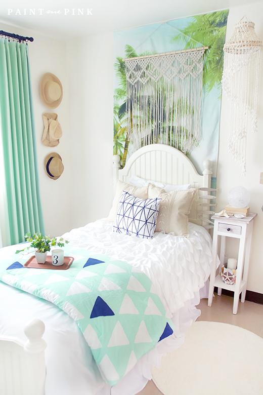Juliet S Beach Bedroom Reveal Beach Inspired Bedroom Ocean