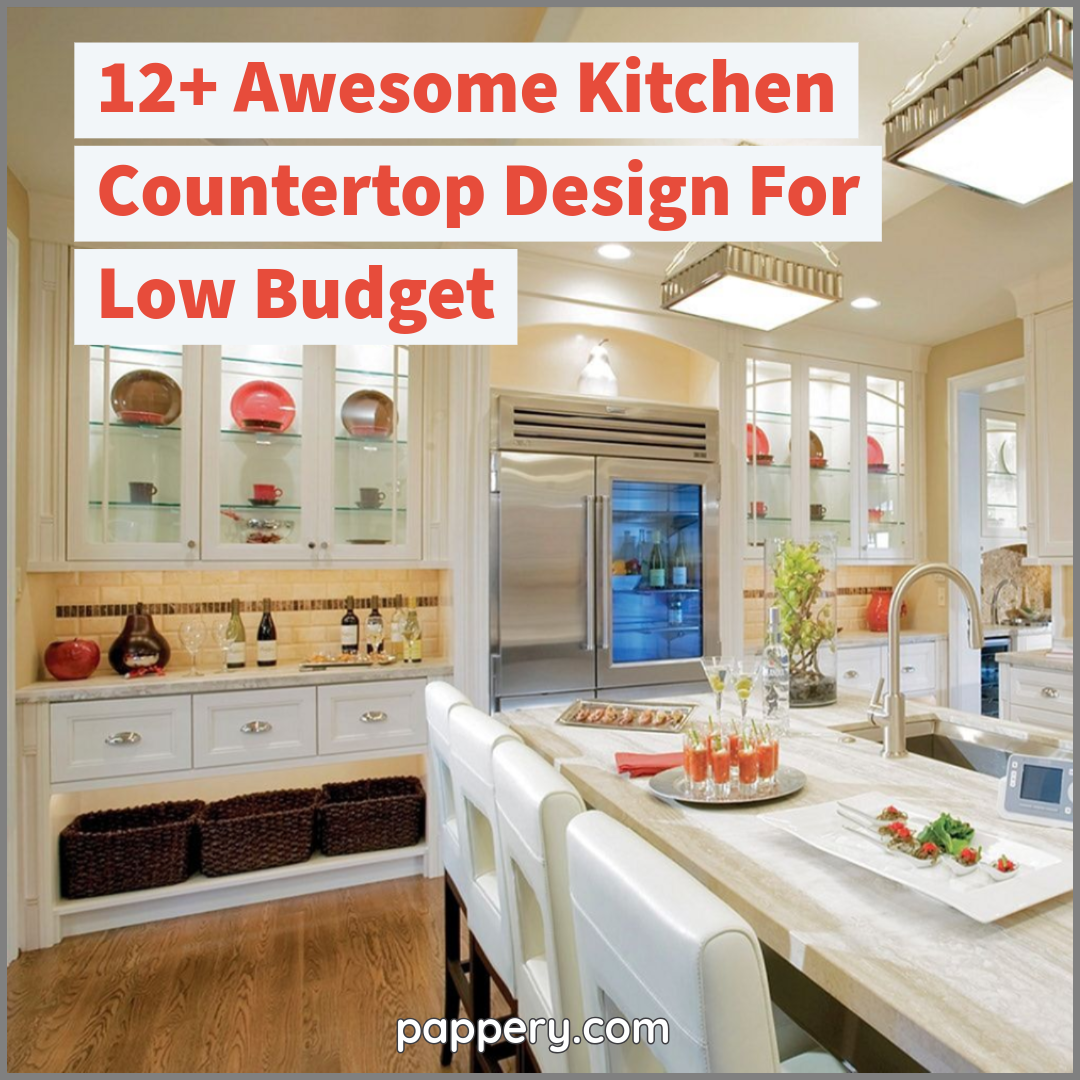 12 Awesome Kitchen Countertop Design For Low Budget Countertop Design Cool Kitchens Kitchen Countertops