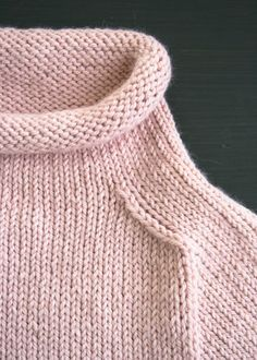 The Purl Soho Pullover in Alpaca Pure - Purl Soho - Knitting Crochet Sewing Embroidery Crafts Patterns and Ideas!