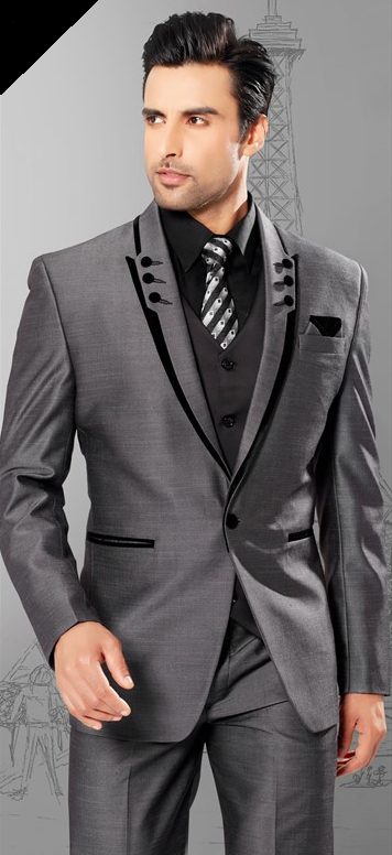 """Kinda cool cut on the jacket lapel. Almost like a double lapel. Makes the  suit interesting and better yet this one isn t """"too much"""". b41885c65e"""