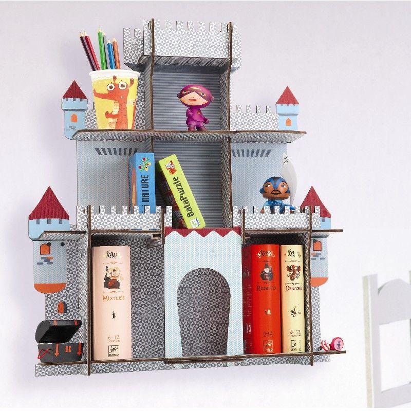 djeco regal ritterburg aus der kollektion litte big room. Black Bedroom Furniture Sets. Home Design Ideas