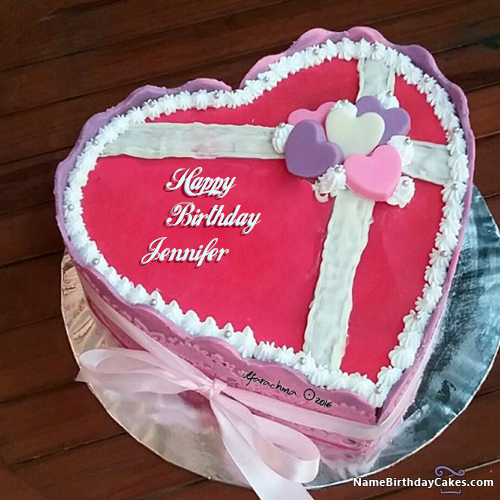 Happy Birthday Jennifer - Video And Images