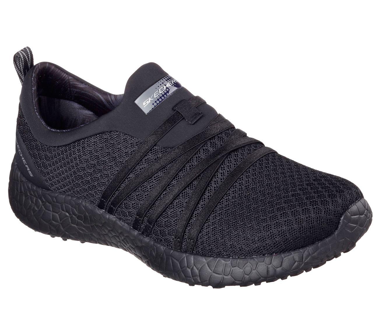 Bikers Pedestrian - Zapatillas de material sintético para mujer, color gris, talla 38 EU (5 Damen UK) Skechers