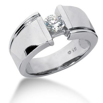 Mens Platinum Rings Wedding Bands Hmmmm Do Guys Like Diamonds In Their Can I Choose His Ring Too Lol