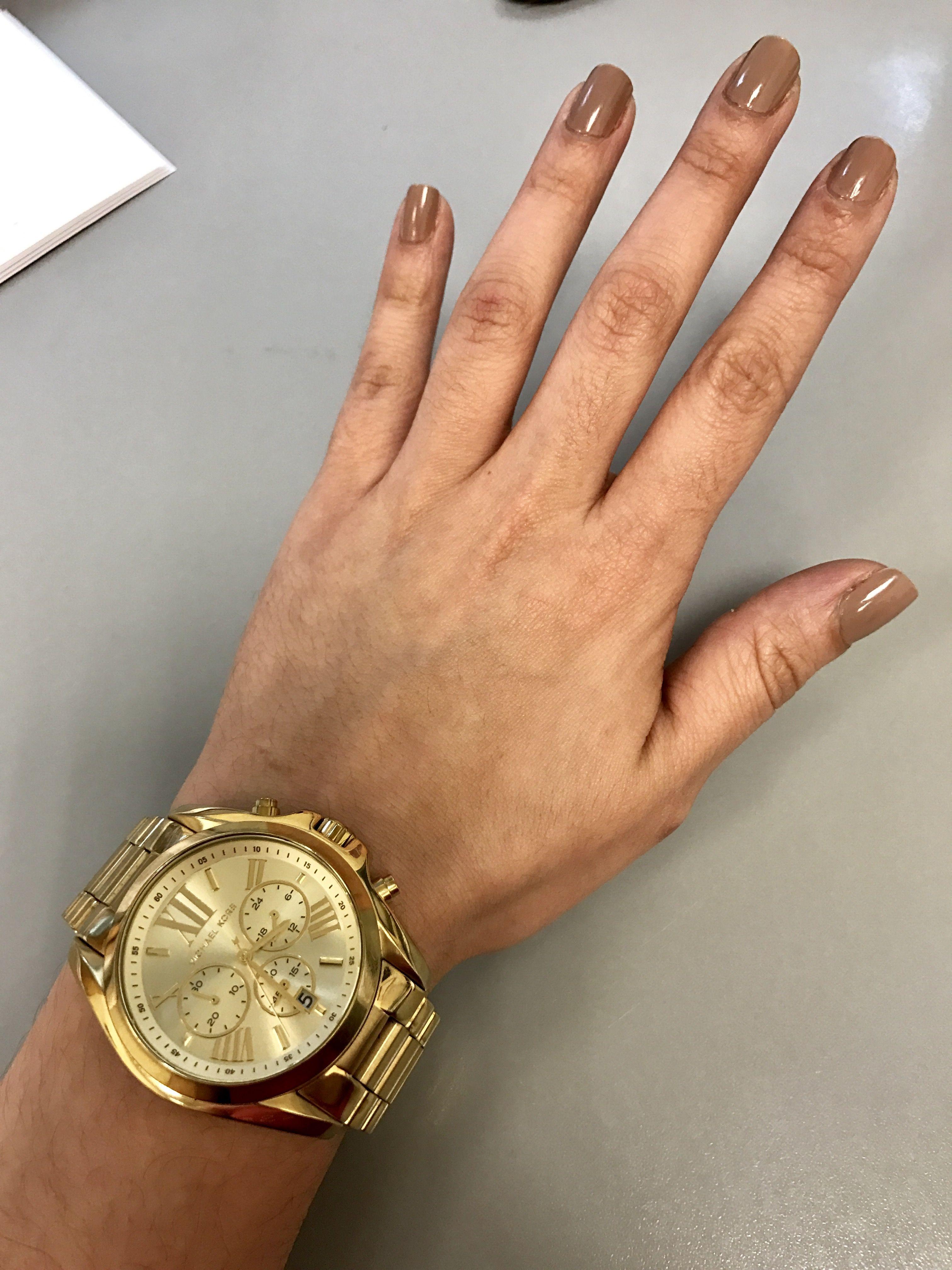 56ab1b1f7e401 Michael Kors MK5605 Gold watch