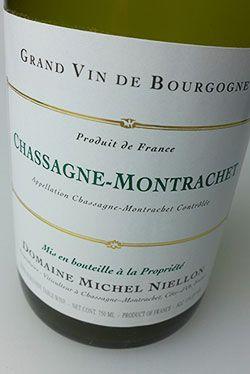2012 Niellon Chassagne-Montrachet #whiteburgundy #burgundy #chassagnemontrachet #chardonnay