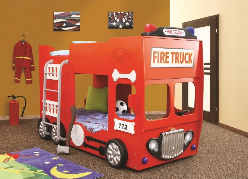 Etagenbett Autobett : Feuerwehrbett etagenbett autobetten kinderbetten