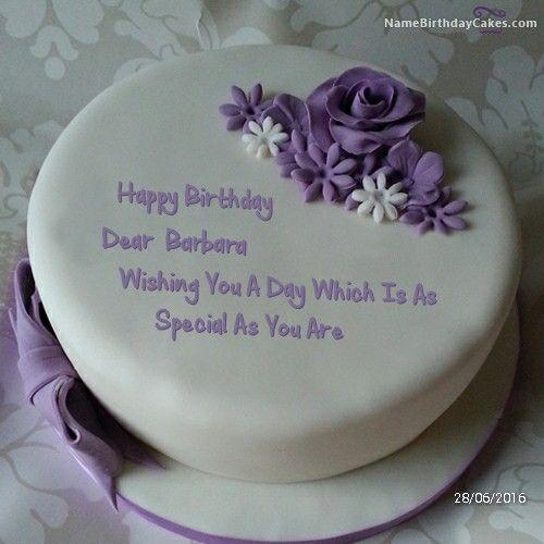 Purple Cake Barbara Birthday Cakes Pinterest Purple Cakes - Birthday cake barbara