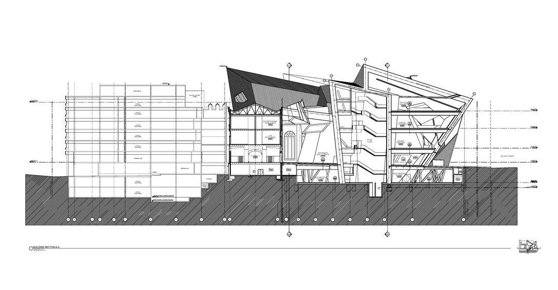 Architecture design the royal ontario museum