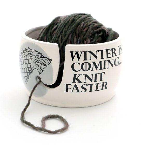 Yarn Bowl For Crocheting Gift Knitters Knitting Of