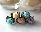 Love the jewelry in Marolsha by Maddy's Etsy shop. So sweet and vintagey!