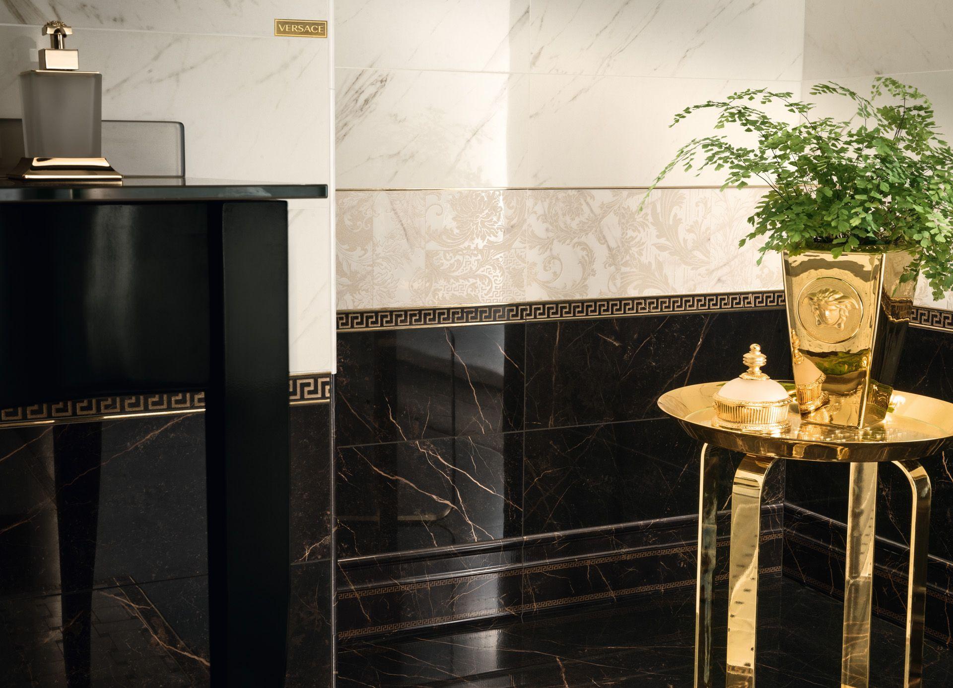 Pavimenti versace ceramiche versace ceramiche design - Rivestimenti bagno versace ...