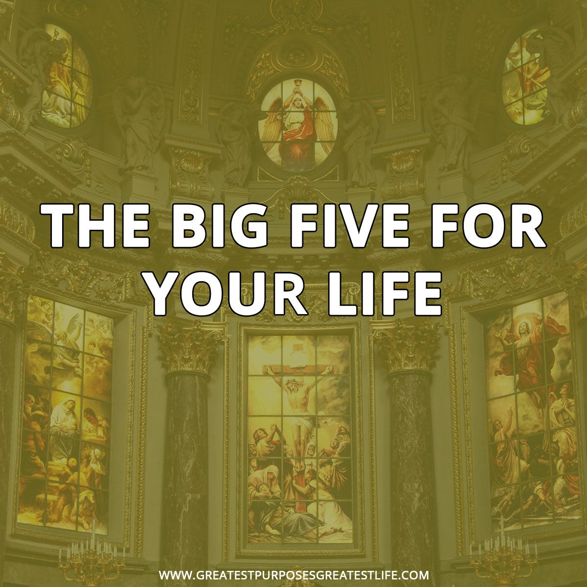 The Big Five For Your Life In Rick Warren Released
