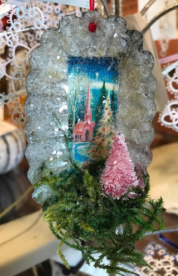 Hey, I found this really awesome Etsy listing at https://www.etsy.com/listing/555671821/snowy-village-ornament