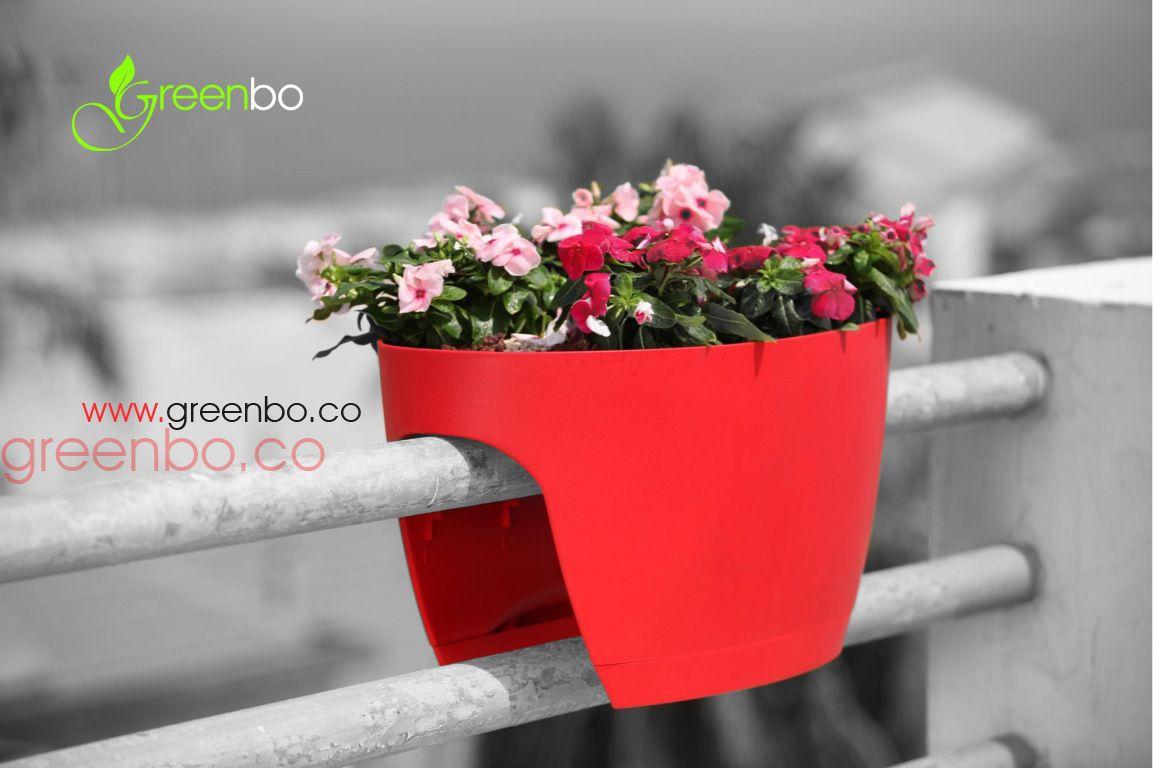 Greenbo Railing Deck Planter Provides A Unique Solution For