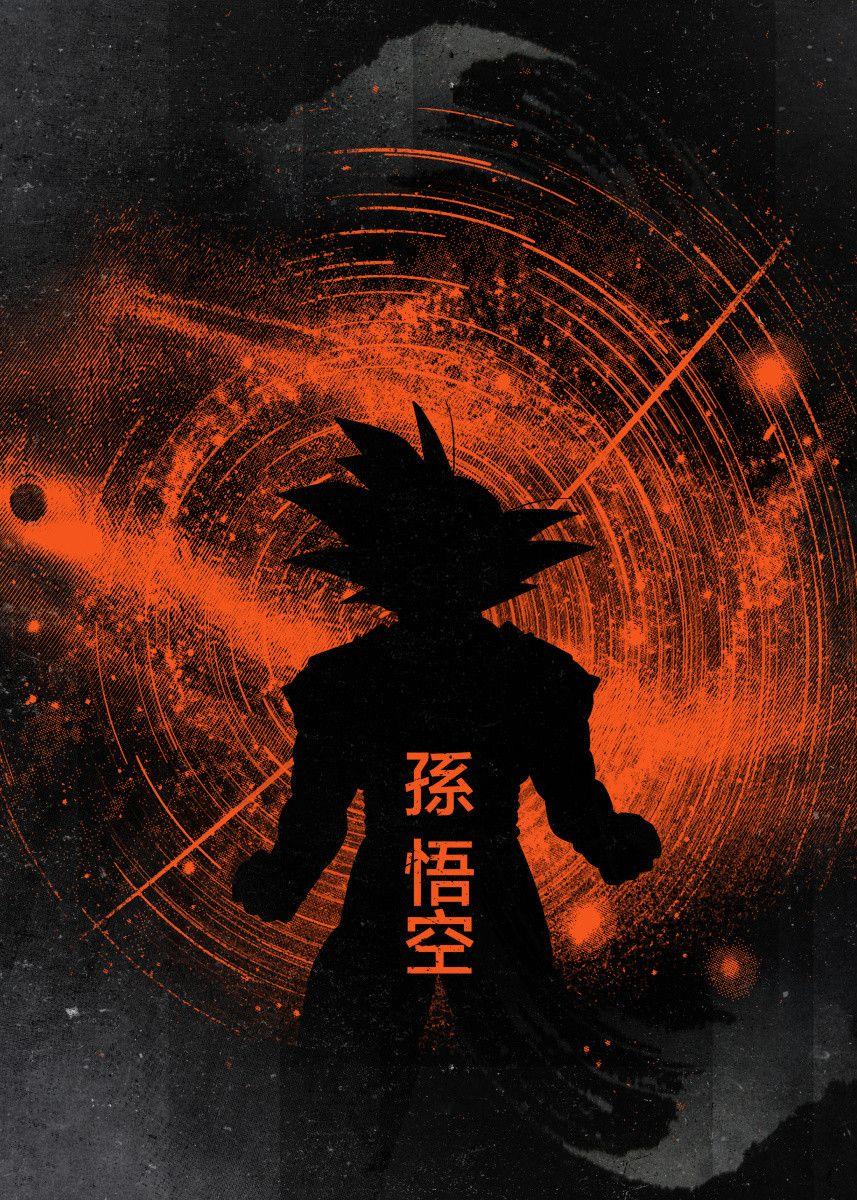 Displate Poster Saiyan glow japan #anime #manga #japanese #ink #inking #space #glow #glowing #orange #red #goku #gohan #vegeta #star #stars #villain #hero #fan #art #fanfreak #power #level #9000 #best #fine #love #x #frieza #saiyan #arm #displate #metalposter #homedecor #inspiration #wallart #artwork #poster #illustration #geekstuff #metalprint