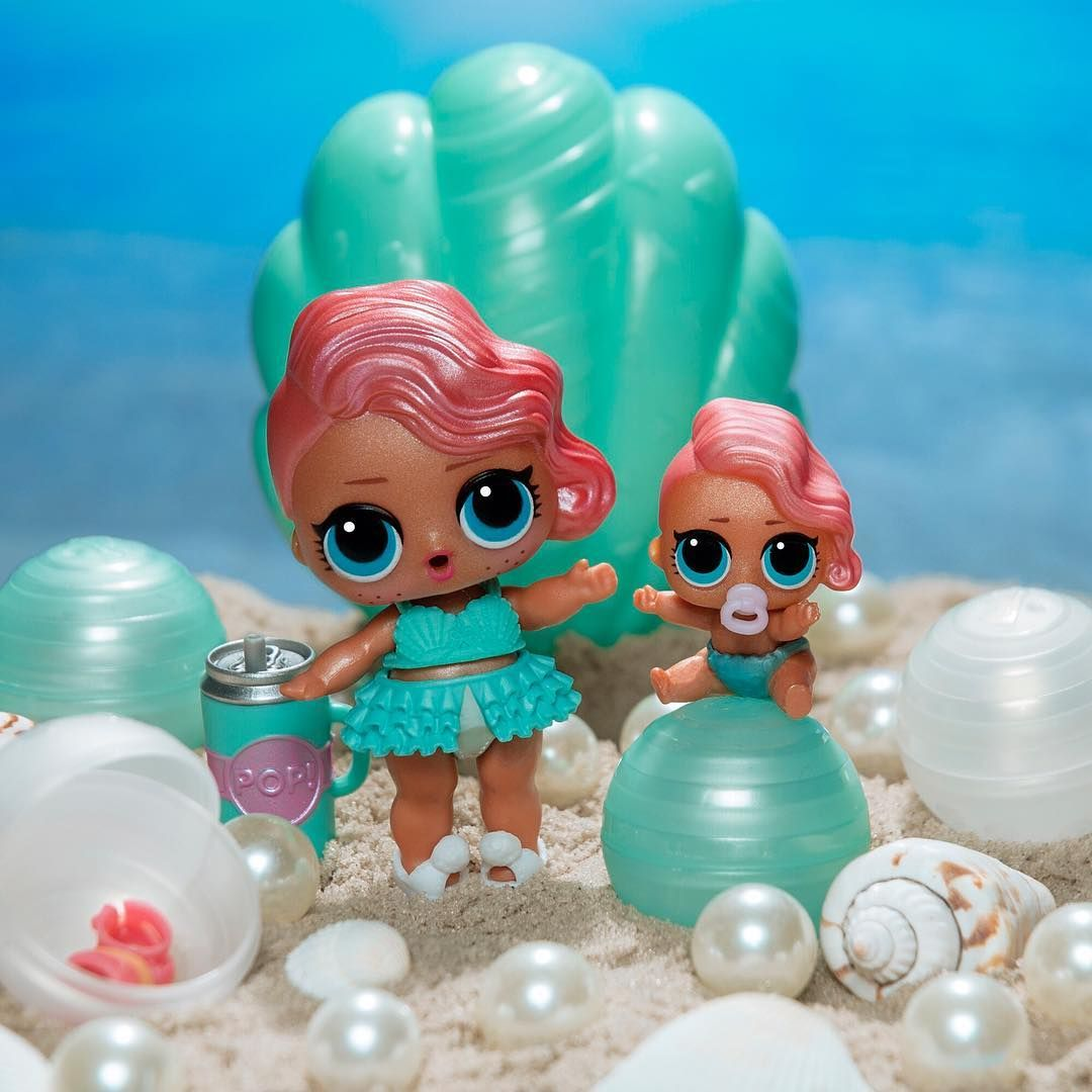 L O L Surprise Pearl Surprise Is Splashing Into Target And Toysrus Stores Now Discover Shimmery Pearl Surprises Inside With Lol Dolls Cute Toys Doll Party