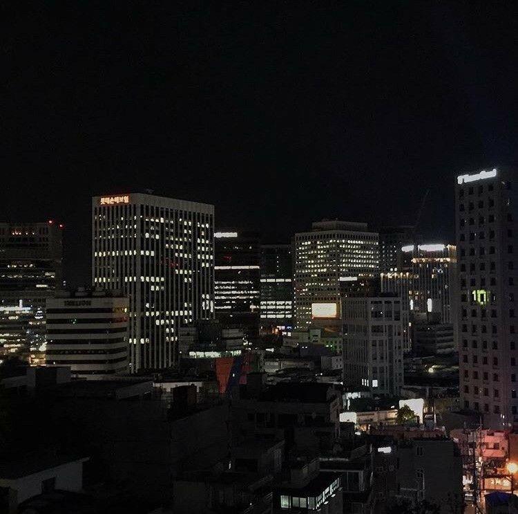 Night Shift Night Citylights City Aesthetic Night Aesthetic Black Aesthetic