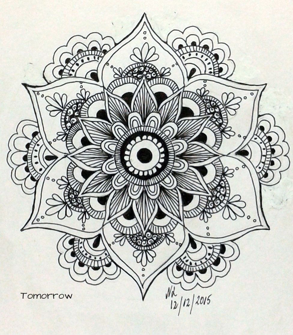Mandala … | Zentangle | Pinte…