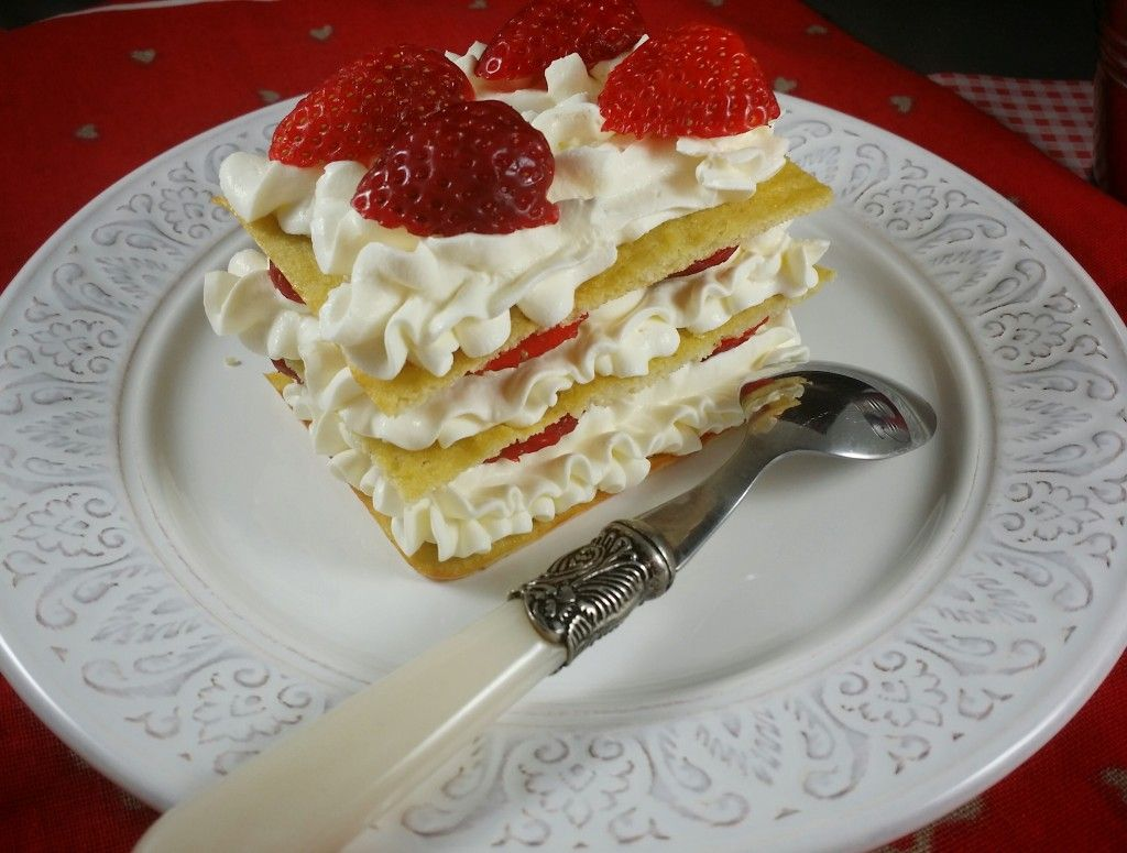 Keto Mille Feuille With Mascarpone Cream Low Carb Cake
