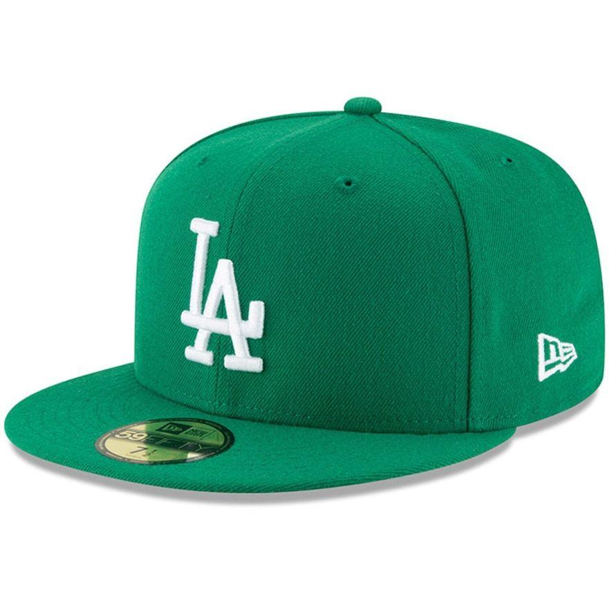 Mens new era green los angeles dodgers fashion color