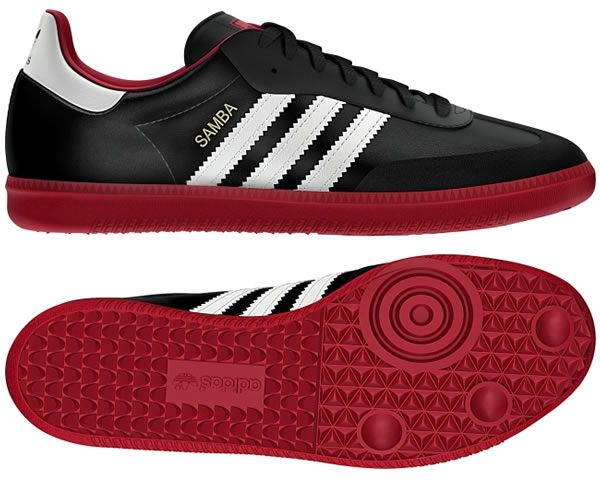 Adidas Samba Black Vivid Red Running White C Jpg 600 500 Adidas Shoes Outlet Adidas Samba Samba Shoes