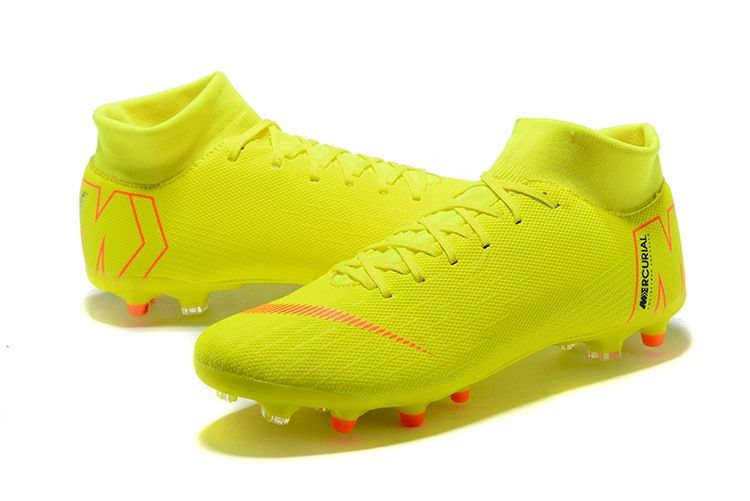 55a7b2058ac Nike Mercurial Superfly VI Elite AG-Pro soccer cleats feature flyknit for a  full 360 degrees to provide you with a cleat that feels much more like a  second ...