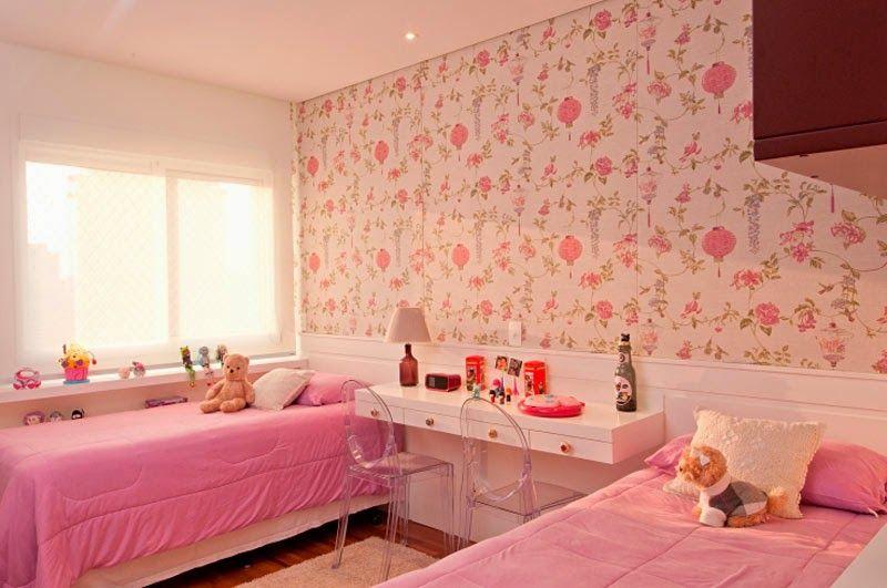 C mo colocar dos camas en un dormitorio para ni as by - Dormitorios dobles para ninos ...