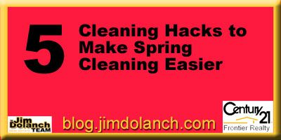 Use these 5 hacks to make sure your Spring Cleaning is a thorough job well done! --> http://blog.jimdolanch.com/5-cleaning-hacks-to-make-spring…/ #realestate #tiptuesday #Pittsburgh #SpringCleaning