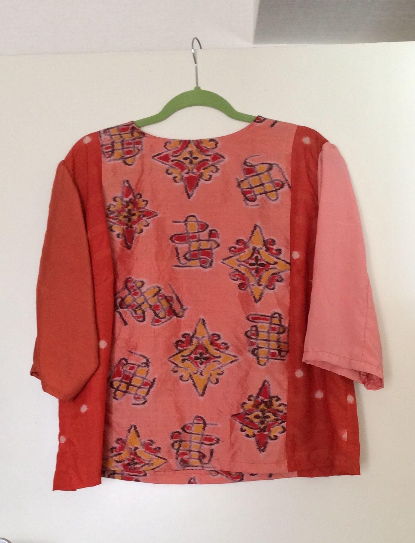 Made of the various Vintage Kimono fabrics.