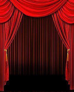 Red Curtains Theatre Curtain Menzilperde Net