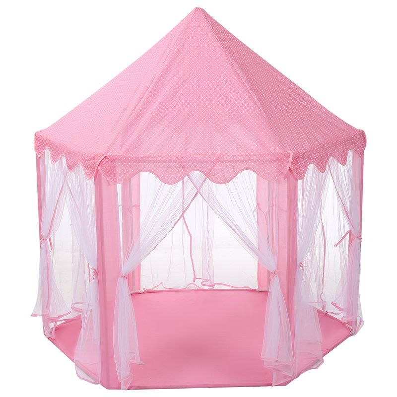 Finether Princess Castle Play Tent With Carrying Bag