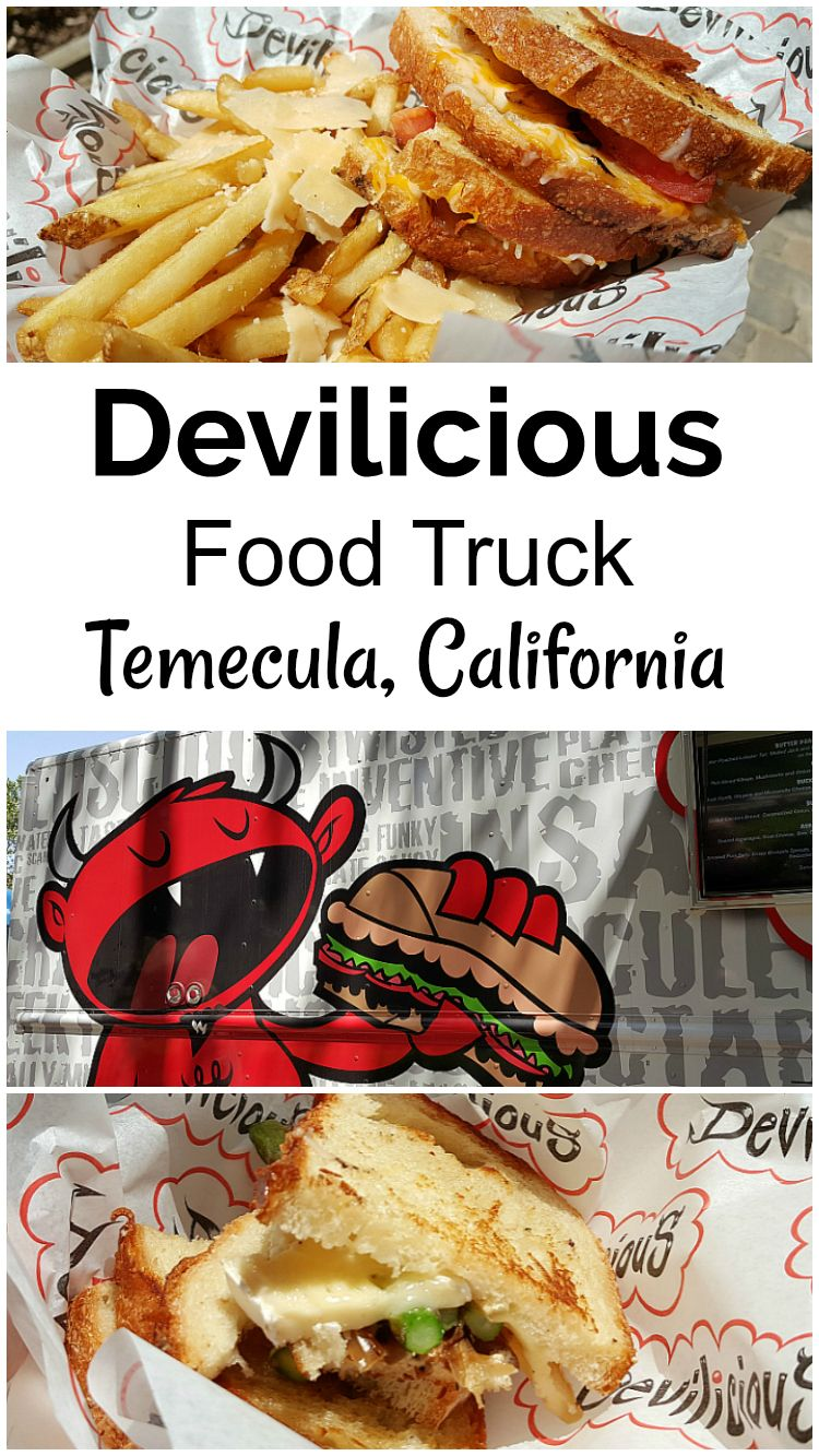 Devilicious food truck from the great food truck race