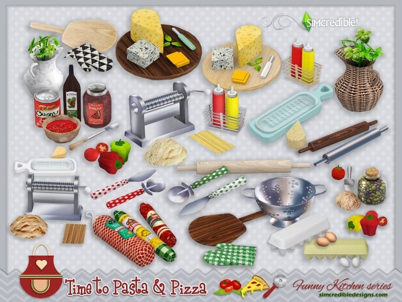 SIMcredible!'s Funny kitchen series – Time to Pasta and Pizza