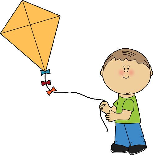 Boy Flying A Kite Clip Art Kite Art