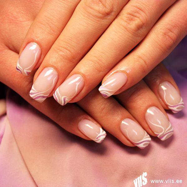 french designs | 300 nail art designs - French Designs 300 Nail Art Designs Nail Art Pinterest Manicure