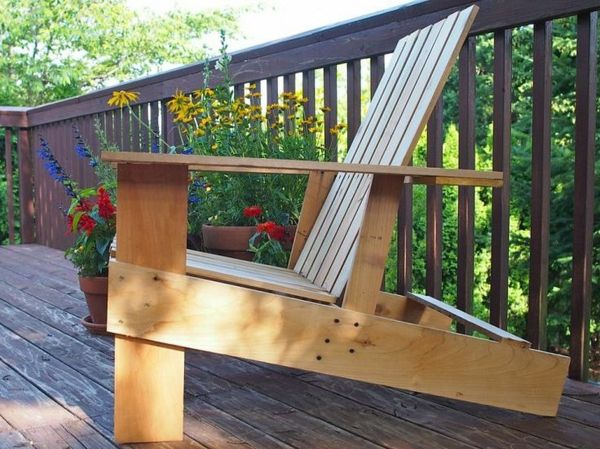 gartenstuhl selber bauen – reimplica, Garten Ideen