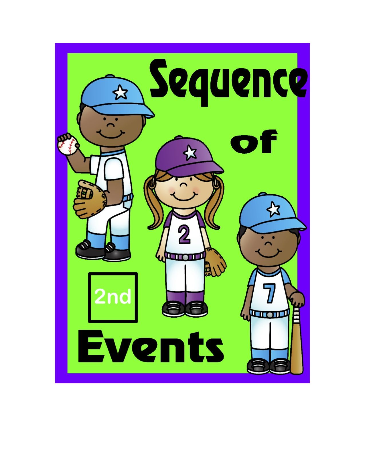 Reading Comprehension For 2nd Grade Sequence Of Events