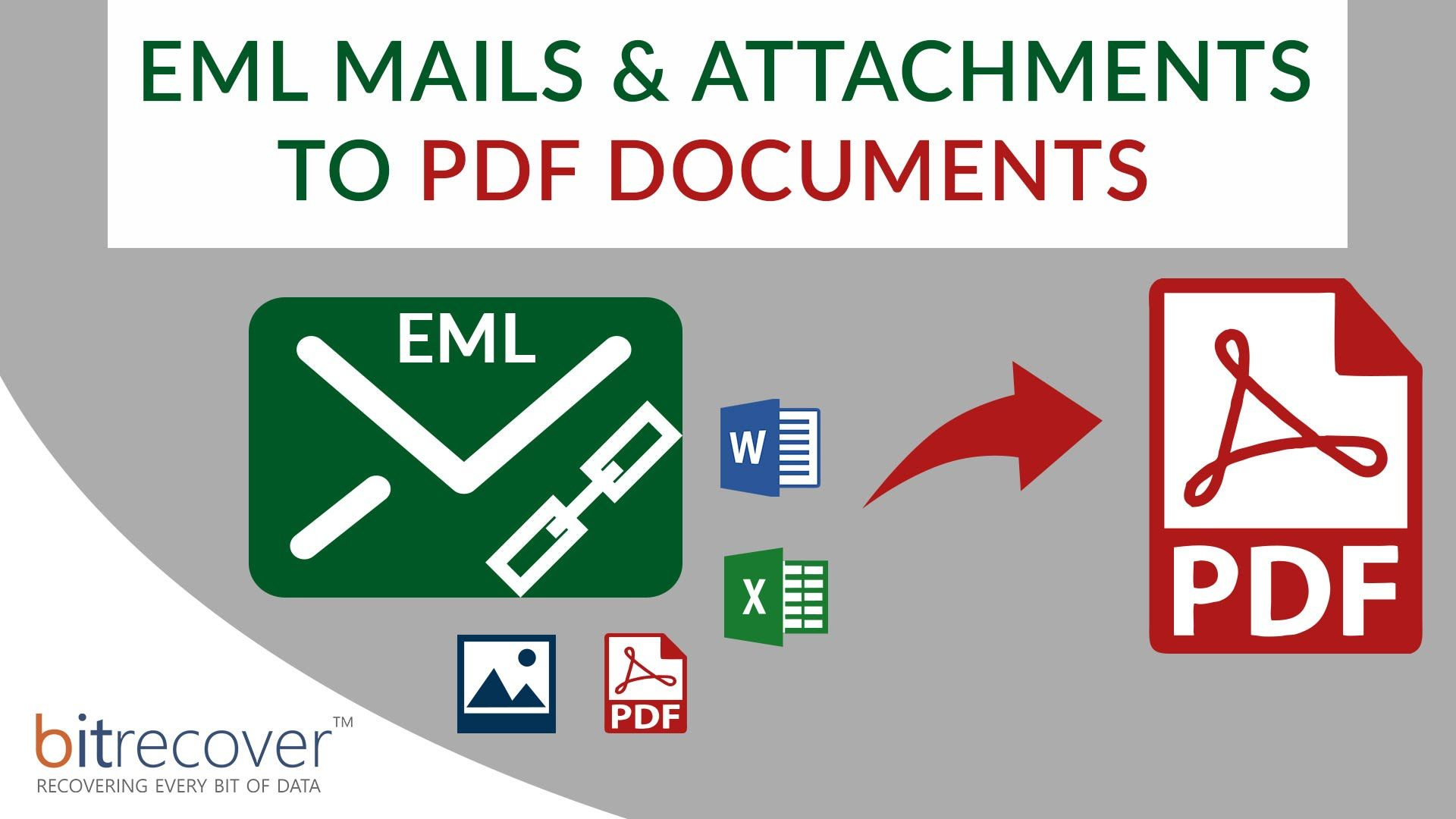 Convert EML to PDF with Attachments as PDF too | web | Pdf
