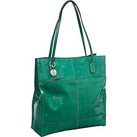 Hobo  Finley Shoulder Tote - Jade - via eBags.com! Lovin' this Jade color!