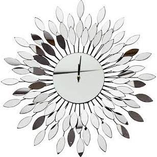 large mirror clock - Google Search