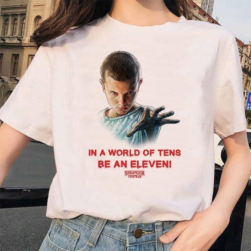 Stranger Things 3 Funny Printed T-shirt, 1030 / XL