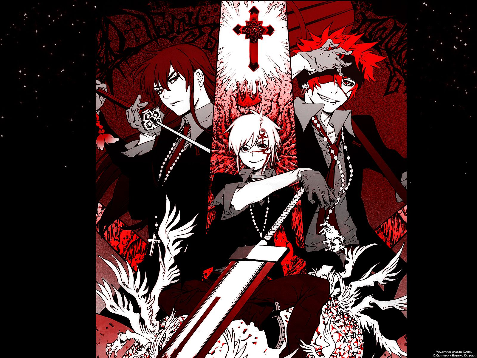 D Gray Man Wallpaper D Gray Man D Gray Man Man Wallpaper D Gray