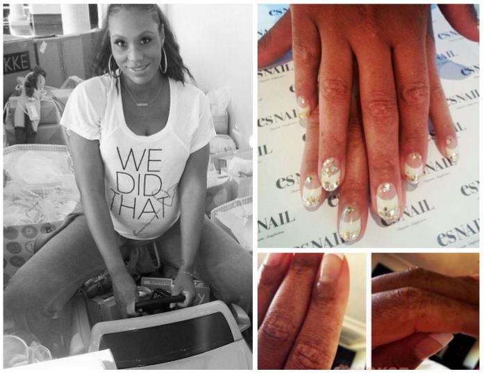 Tamar braxton addresses bleaching rumors explains she has for Tamar braxton tattoo