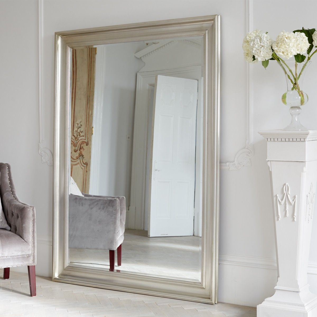 Pin On Laura Hallway #oversized #mirrors #for #living #room