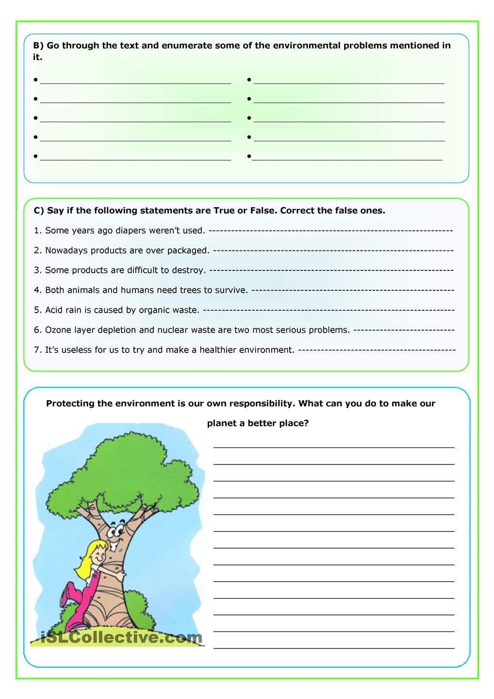 planets comprehension worksheets - photo #22