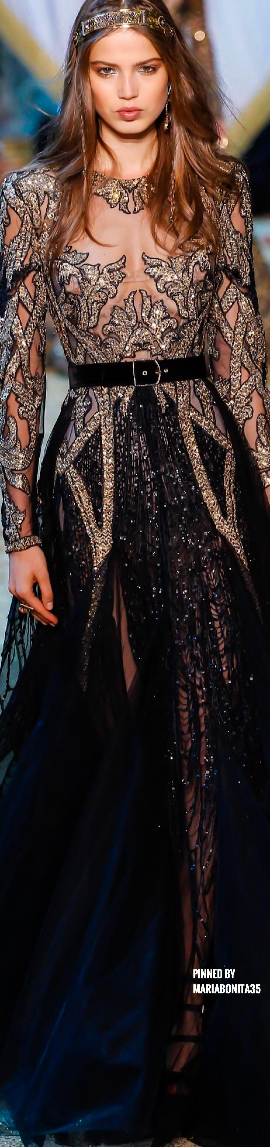 Elie saab fall haute couture dress pinterest elie saab fall