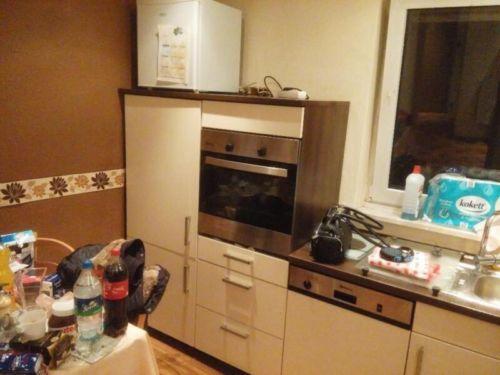 Große Nobilia Einbauküche Küche Hochganz mit allen E-Geräten ...