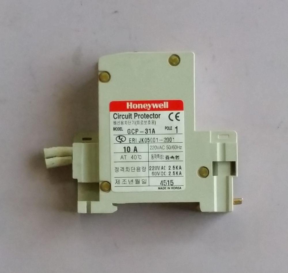 Honeywell / GCP31A / Circuit Breaker Protector, 10A