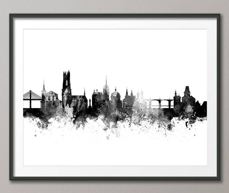 City Skyline Art Cityscape Skylines Switzerland Cities Color Depth Cityscapes Cool Stuff Monitor Boxing